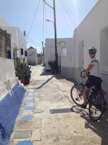 lost in a village in Rhodes - a great way to see villages off the beaten track