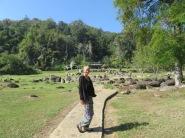Hot springs in Doi Pha Hom Pok national park