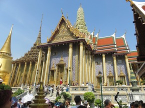 Royal palace Bangkok - photos do not do it justice