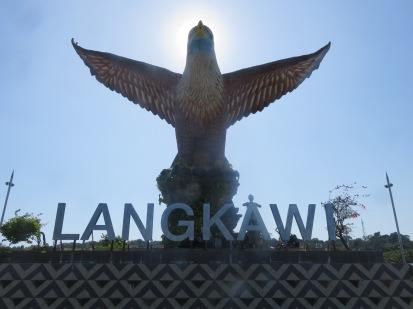 Langkawi big bird with a sexy little bird under it