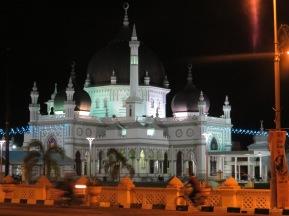 beautiful mosque in Alor Setar