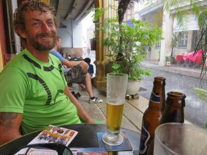 raining must be a beer break