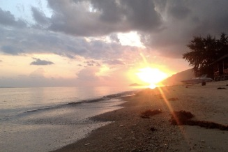 A new day dawning at Ko Phangan
