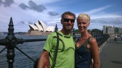 Sydney Opera House with Bharti and Pete - more photos to follow