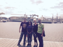 Our friends Bharti and Pete in Sydney