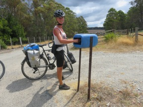 Typical post box,
