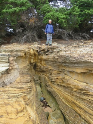 Painted Cliffs on Maria Island