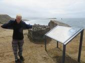 very windy on Maria Island