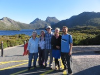 A lovely family who took us up to Cradle Mountain National Park
