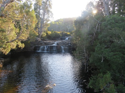 Waterfalls at Cradle Mountain