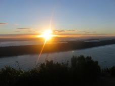 Sunset on top of Mount Maunganui