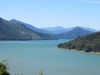 the fiord type scenery after leaving Picton